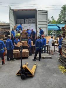 Cho thuê xe container ( xe đầu kéo) giá rẻ tại Hà Nội